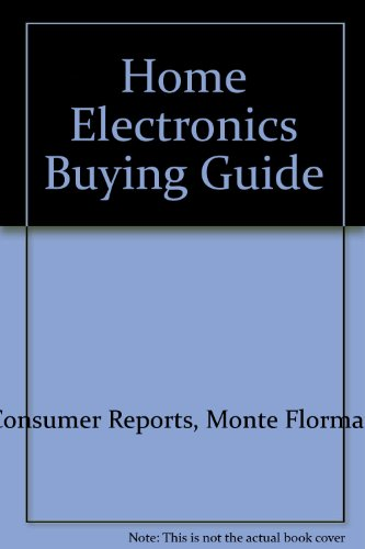 Home Electronics Buying Guide