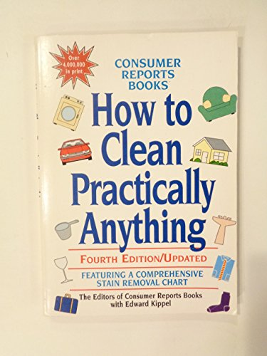consumer reports how to clean practically anything pdf