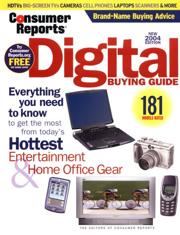 9780890439784: Digital Buying Guide 2004 (Consumer Reports)
