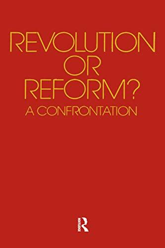 9780890440209: Revolution or Reform?: A Confrontation
