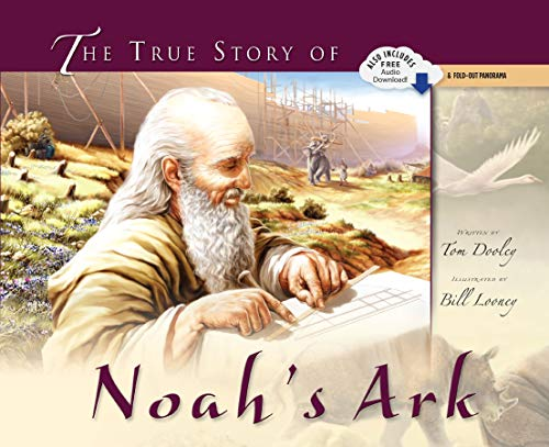 9780890513880: The True Story of Noah's Ark (with audio CD and pull-out spread)