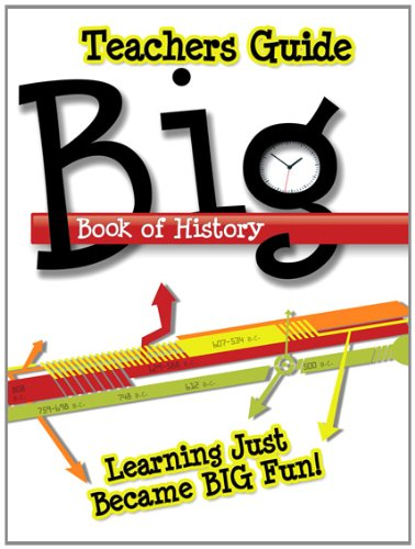 9780890516348: Big Book of History-Teacher's Guide
