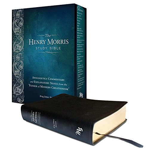 9780890516584: Henry Morris KJV Study Bible, The King James Version Apologetic Study Bible with over 10,000 comprehensive study notes (Genuine Leather)