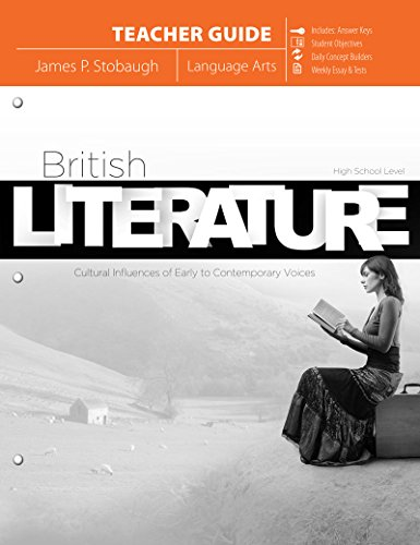 9780890516744: British Literature (Teacher Guide): Cultural Influences of Early to Contemporary Voices