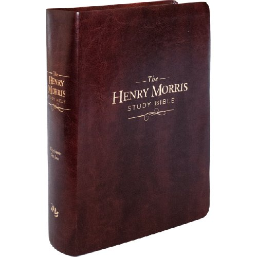 9780890516942: Henry Morris KJV Study Bible, The - King James Version Apologetic Study Bible with over 10,000 comprehensive study notes (Soft Leather Look)