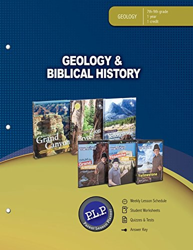 9780890517277: Geology & Biblical History Parent Lesson Planner