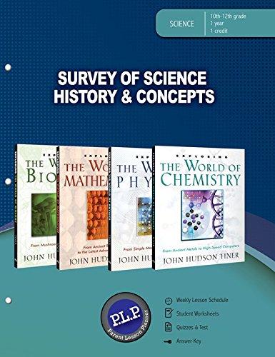 9780890517413: Survey of Science History & Concepts Parent Lesson Planner
