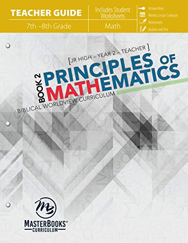 9780890519073: Principles of Mathematics Book 2 (Teacher Guide)
