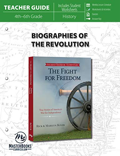 9780890519127: Biographies of The Revolution (Teacher Guide)