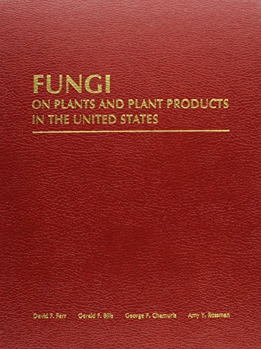 9780890540992: Fungi on Plants and Plant Products in the United States (Contributions from the U.S National Fungus Collections, No. 5)