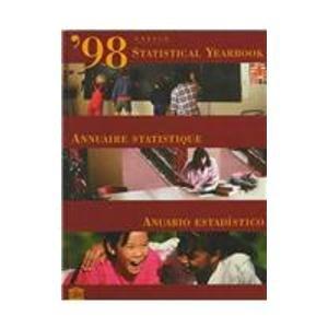 9780890591567: UNESCO Statistical Yearbook 1998