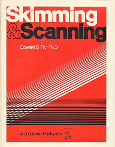 9780890611234: Skimming and Scanning: Advanced Level
