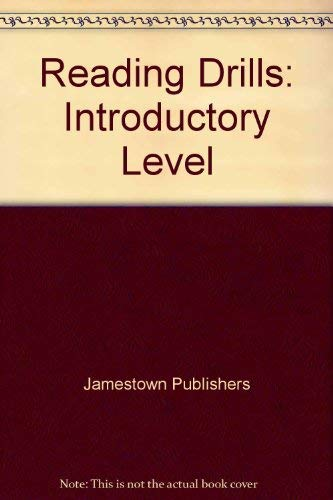 Reading Drills: Introductory Level: Jamestown Pubns