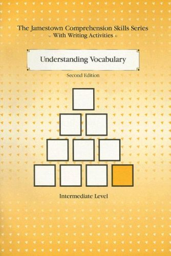 9780890616499: Understanding Vocabulary: Intermediate Level (Jamestown Comprehension Skills)