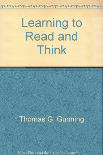 9780890616857: Learning to Read and Think