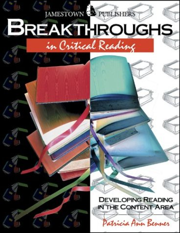 Breakthroughs in Critical Reading : Developing Critical: Patricia Ann Benner,