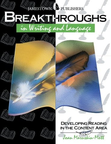 9780890618066: Breakthroughs in Writing and Language : Developing Writing and Language Skills