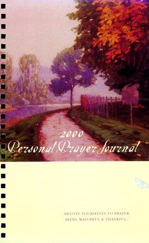 9780890663103: Personal Prayer Journal 2000