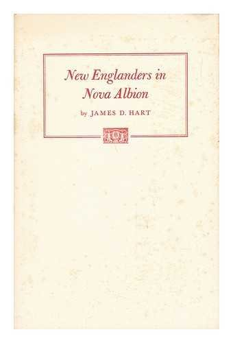 9780890730089: New Englanders in Nova Albion: Some 19th century views of California (Maury A. Bromsen lecture in humanistic bibliography)