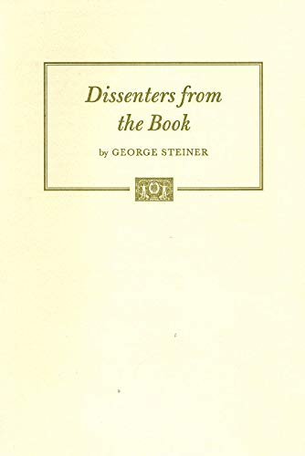 9780890731154: Dissenters from the Book