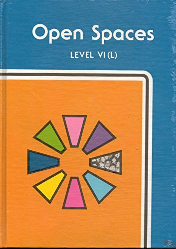 Crane Reading System; Pacer Program; Open Spaces Level VI (L): Barbara J. Crane