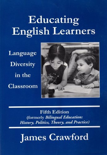 9780890759998: Educating English Learners: Language Diversity in the Classroom, Fifth Edition