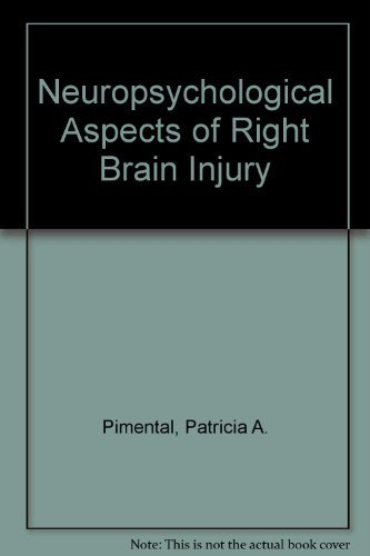 9780890791806: Neuropsychological Aspects of Right Brain Injury
