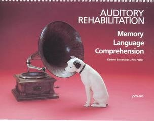 9780890792391: Auditory Rehabilitation: Memory Language Comprehension : Test Probes