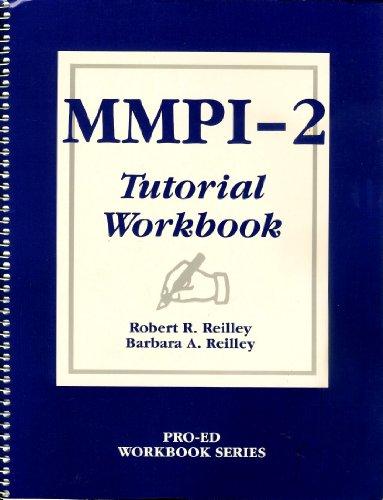 9780890792674: Mmpi-2 Tutorial Workbook