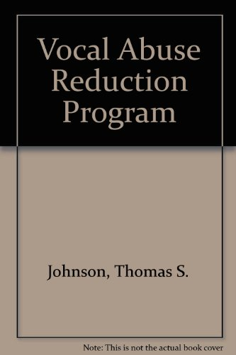 9780890793145: Vocal Abuse Reduction Program