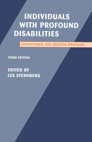 9780890795576: Individuals With Profound Disabilities: Instructional and Assistive Strategies