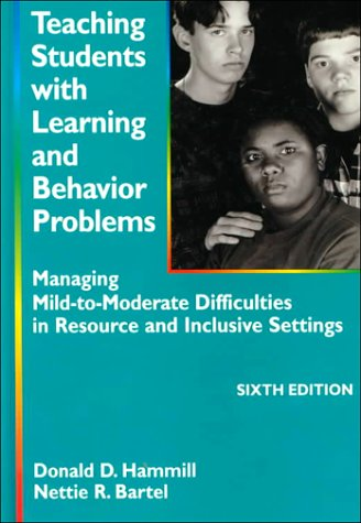 9780890796108: Teaching Students With Learning and Behavior Problems: Managing Mild-To-Moderate Difficulties in Resource and Inclusive Settings
