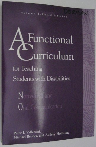 A Functional Curriculum for Teaching Students With