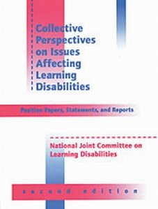 9780890798454: Collective Perspectives on Issues Affecting Learning Disabilities: Position Papers, Statements, and Reports