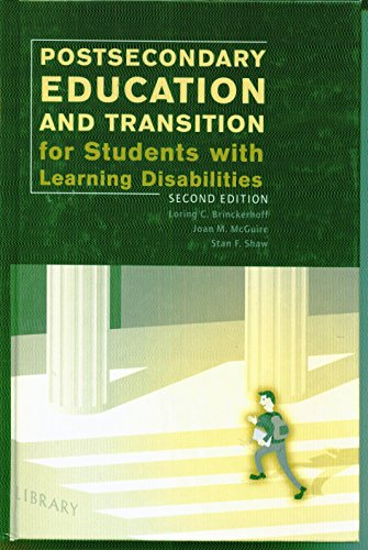 9780890798720: Postsecondary Education for Students With Learning Disabilities: A Handbook for Practitioners