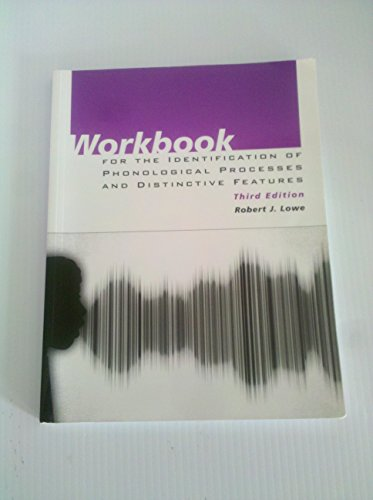 9780890798805: Workbook for the Identification of Phonological Processes and Distinctive Features
