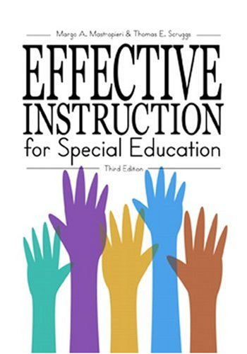 9780890798829: Effective Instruction for Special Education (3rd Edition)