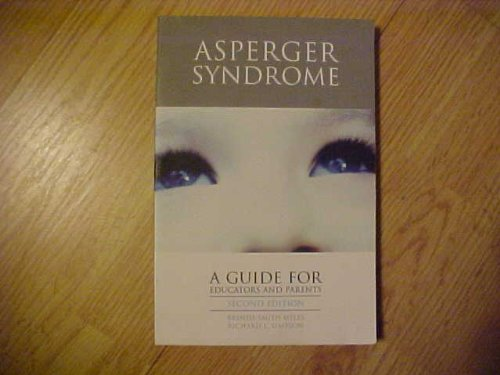 9780890798980: Asperger Syndrome: A Guide for Parents and Educators