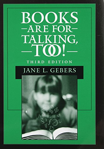 9780890799024: Books Are for Talking, Too!