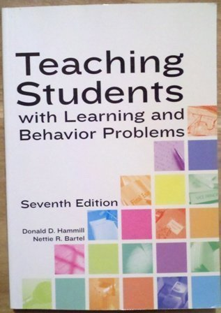9780890799284: Teaching Students With Learning and Behavior Problems