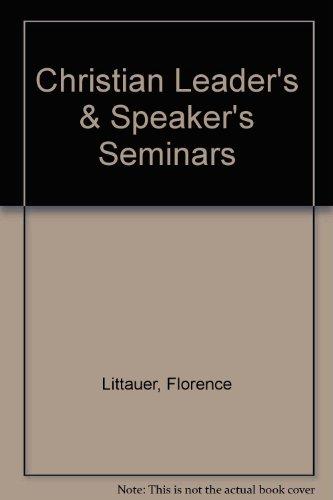 Christian Leader's & Speaker's Seminars