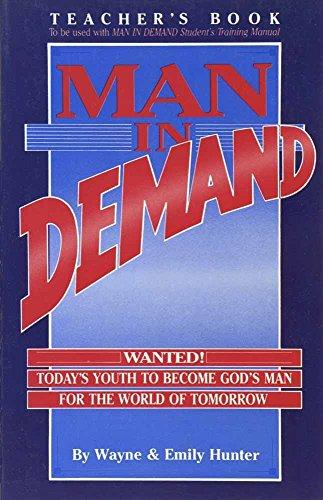 9780890815113: Man in Demand (teacher)