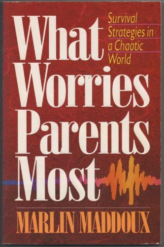 9780890819333: What Worries Parents Most