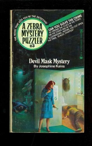 Devil Mask Mystery: Zebra Mystery Puzzler #3: Josephine Kains (Ron
