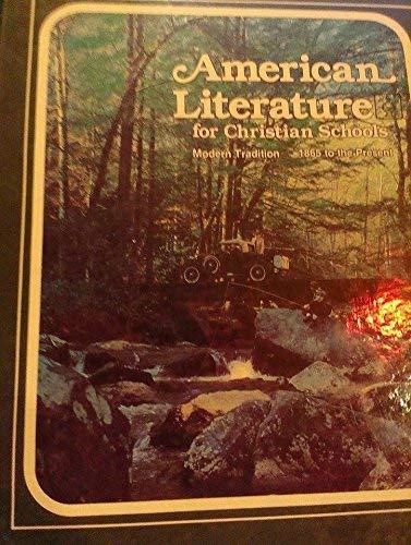 9780890841082: American literature for Christian schools