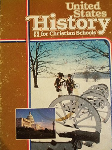 9780890841761: United States history for Christian schools
