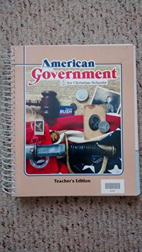 American government for Christian schools: Keesee, Timothy