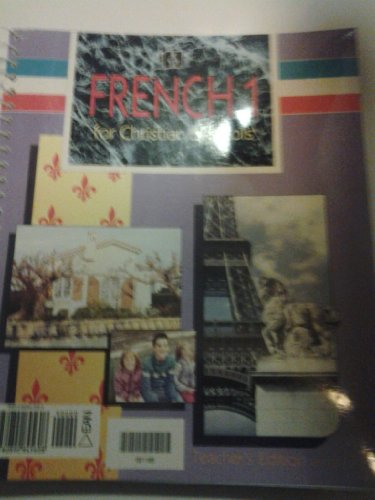 9780890845608: Bob Jones French 1 Teachers Edition