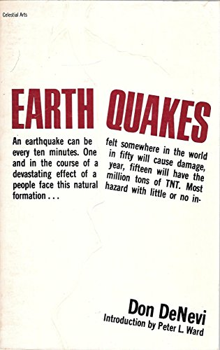 Earthquakes (9780890871485) by Don Denevi