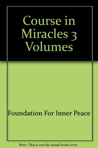 9780890871966: A Course in Miracles/Text, Workbook for Students, and Manual for Teachers
